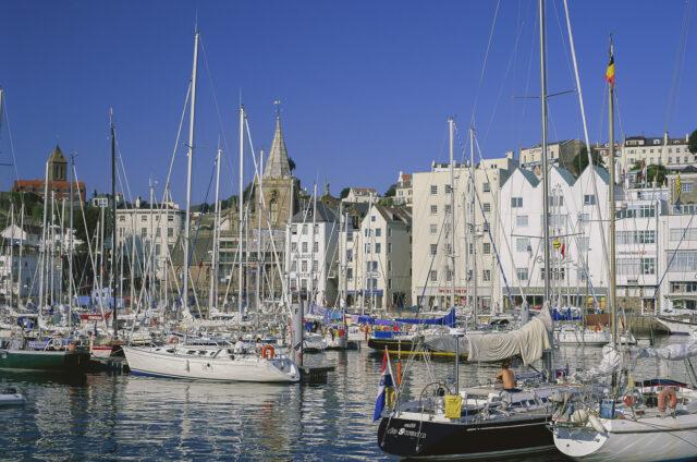 Přístav Saint Peter na ostrově Guernsey