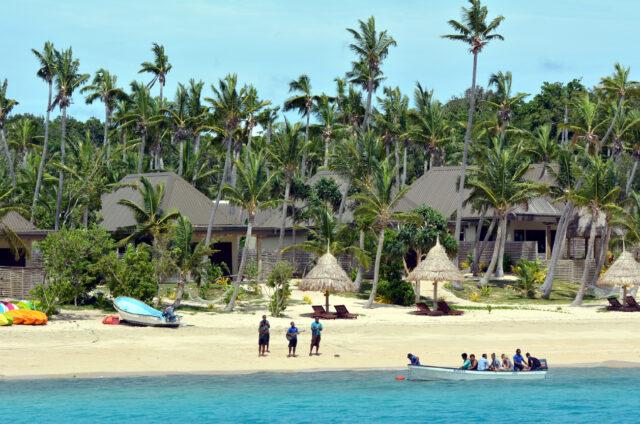 Připlutí na souostroví Mamanuca, Fidži
