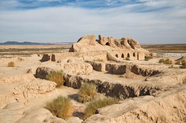 Pevnost Toprak Kala, Uzbekistán