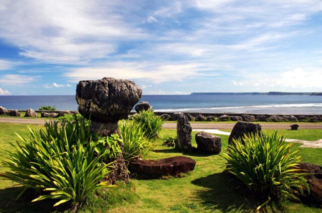 Pilíře 1500 let starých domů, Guam, Mariany