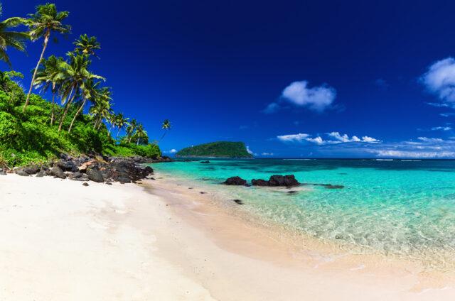 Pláž Lalomanu, Upolu, Samoa