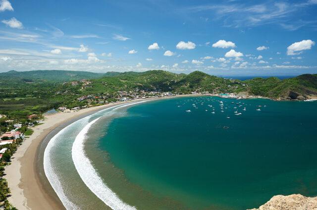 Pláž San Juan del Sur, Nikaragua