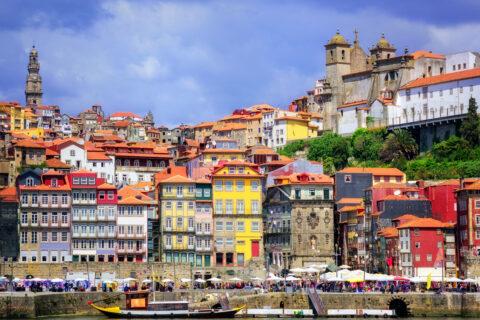 Porto - staré město, Lisabon