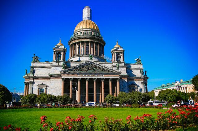 Pravoslavná Katedrála sv. Izáka, Petrohrad, Rusko