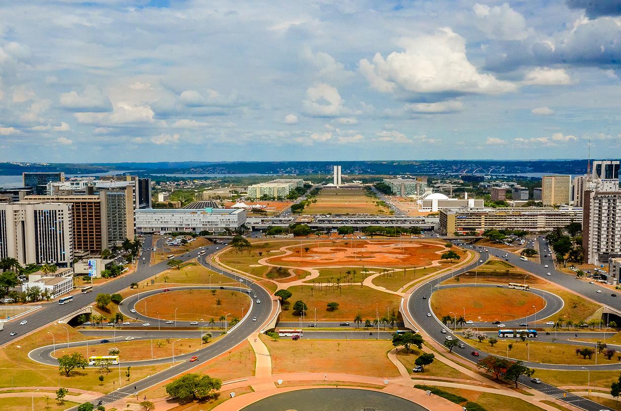 Projekt nového města Brasília, Brazílie