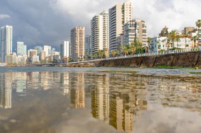 Promenáda Corniche, Bejrút, Libanon