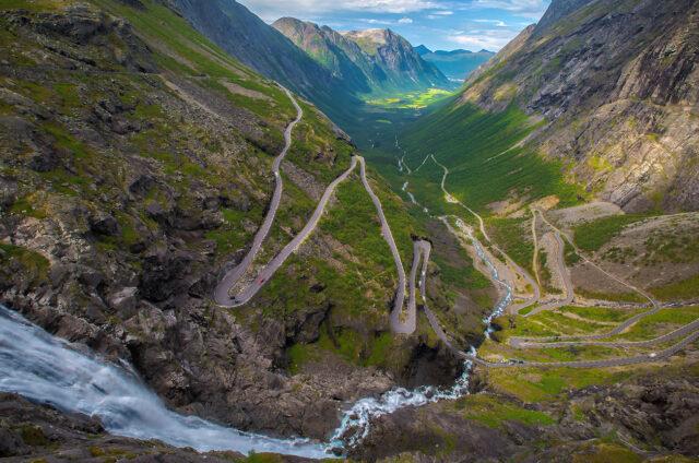 Proslulá silnice Trollstigen