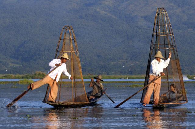 Rybáři na jezeře Inle, Barma