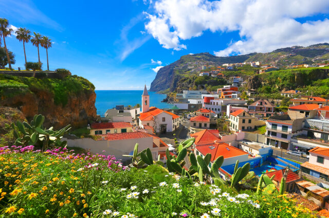 Rybářská osada Camara de Lobos, Madeira
