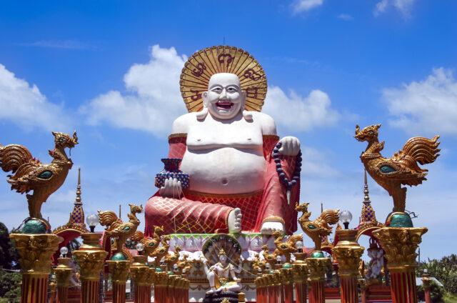 Socha Buddhy, Ko Samui, Thajsko