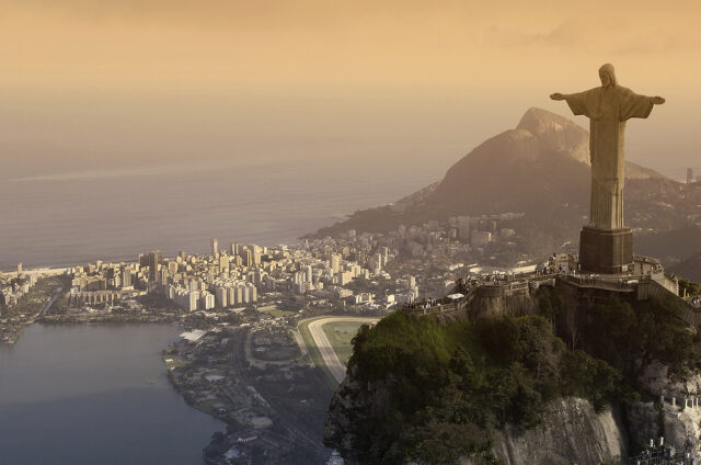 Socha Krista, Rio de J., Brazílie