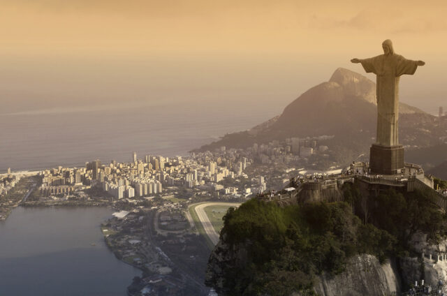 Socha Krista, Rio de Janeiro, Brazílie