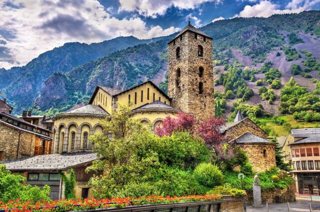 Středověký kostel Sant Esteve, Andorra