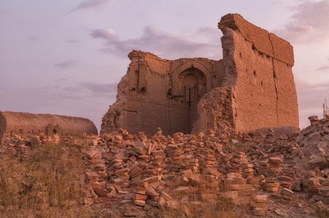 Starodávné pohřebiště Mizdachán, Uzbekistán