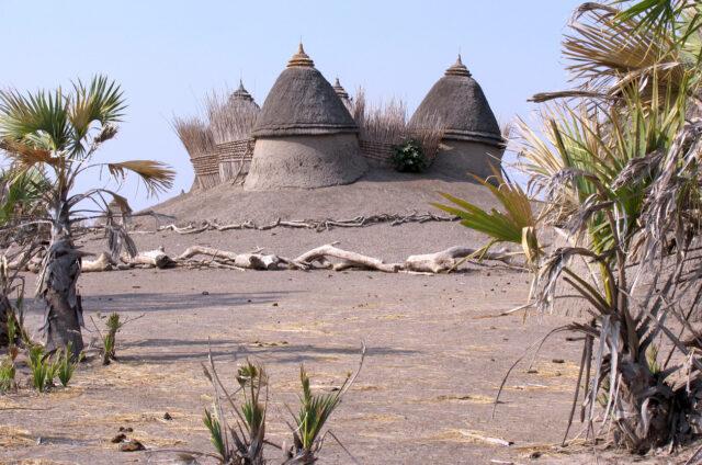 Tradiční obydlí, Súdán