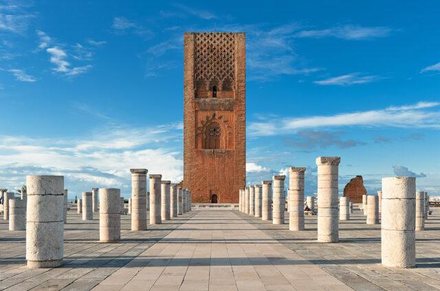 Věž Hassan, Rabat, Maroko