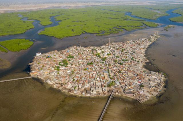Vesnička Joal Fadiouth, Senegal