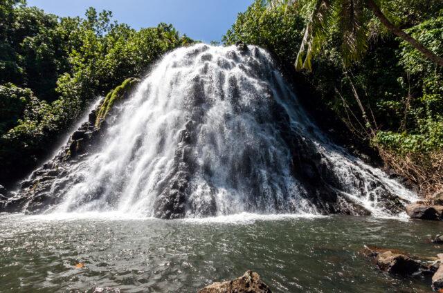 Vodopád Kepirohi, Pohnpei, Mikronésie