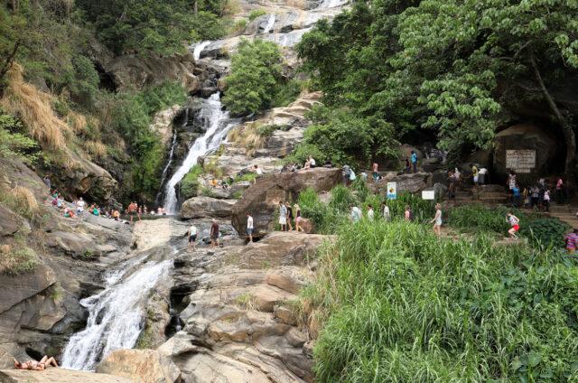 Vodopád Rawana, Srí Lanka