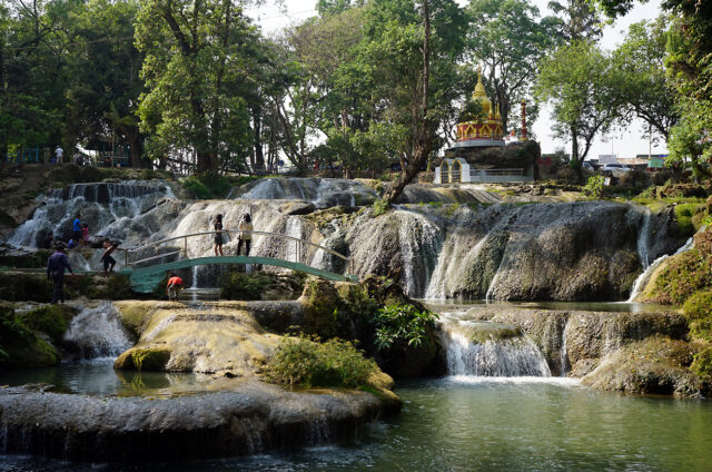 Vodopády Pwe Kauk, Pyin U Lwin, Barma