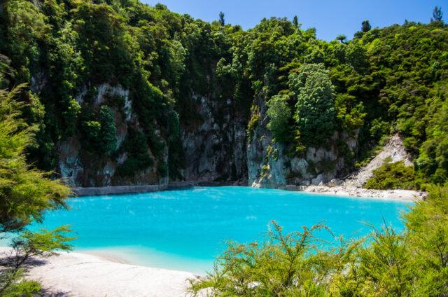 Waimangu, Severní ostrov, Nový Zéland