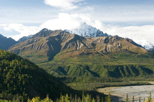 Wrangell N.P., Aljaška, USA