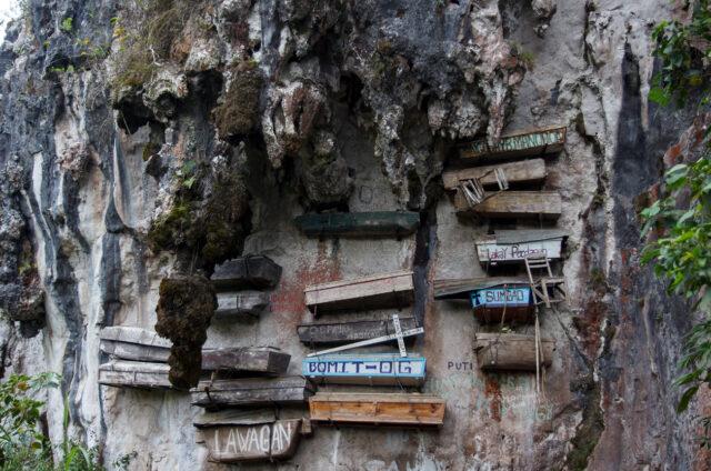 Zavěšené rakve, Sagada, Filipíny
