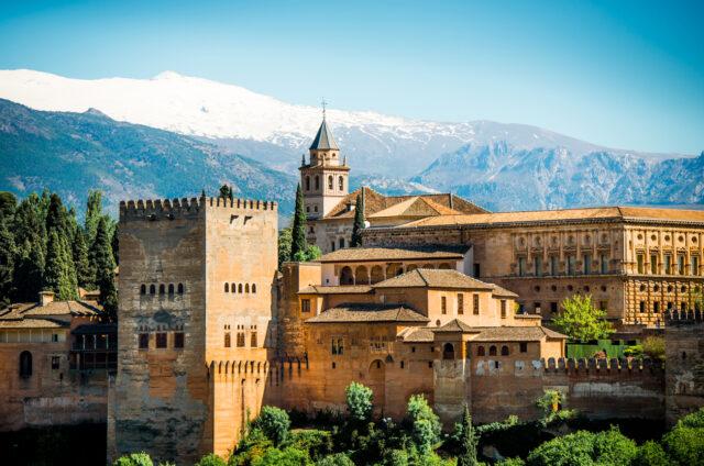 Maurský komplex paláců, Alhambra