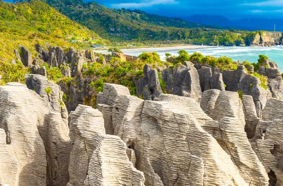 Punakaiki, Jižní ostrov, Nový Zéland