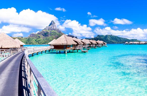 Resort na Bora Bora, Francouzská Polynésie