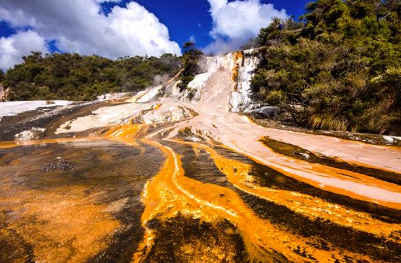 Rotorua, Severní ostrov, Nový Zéland