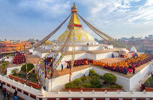 Svatyně Swayambhunath, Nepál