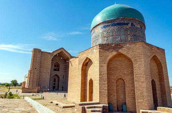 Mauzoleum Ahmeda Jassávího, Turkestán, Kazachstán