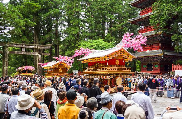 Festival Sennin Gjorecu, Nikkó, Japonsko