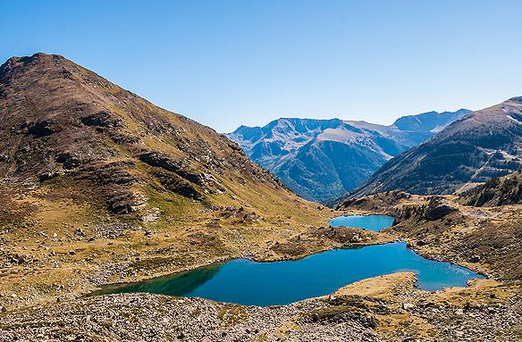Jezera v kotlině Tristaina