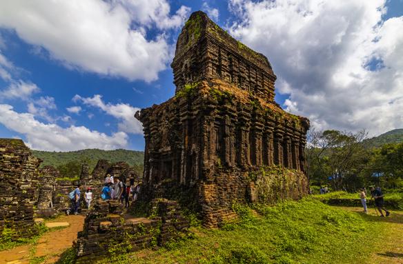 Chrámy vdžungli, My Son, Vietnam