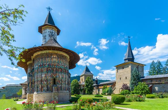Malovaný klášter Sucevita (UNESCO), Rumunsko