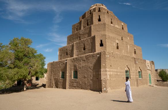 Starobylá architektura, Abri, Súdán