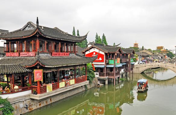Benátky Orientu, Šanghaj, Čína