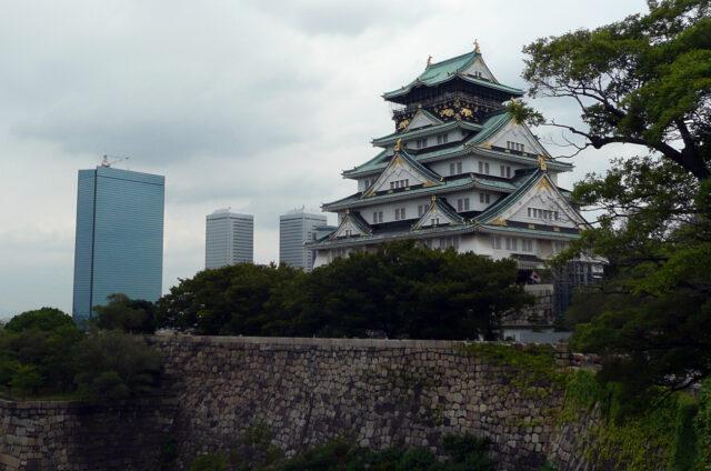 Ósacký hrad, Ósaka, Japonsko