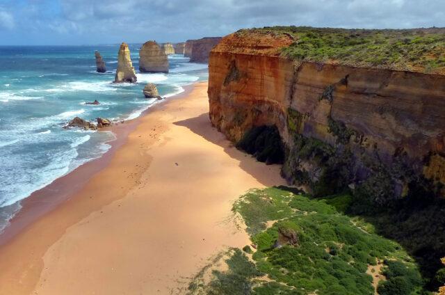 Útesy Dvanáct apoštolů, Austrálie