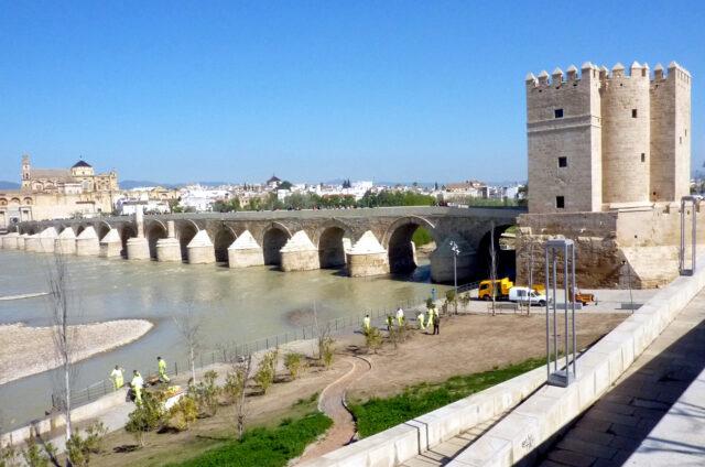 Římský most přes Guadalquivir, Cordoba, Španělsko
