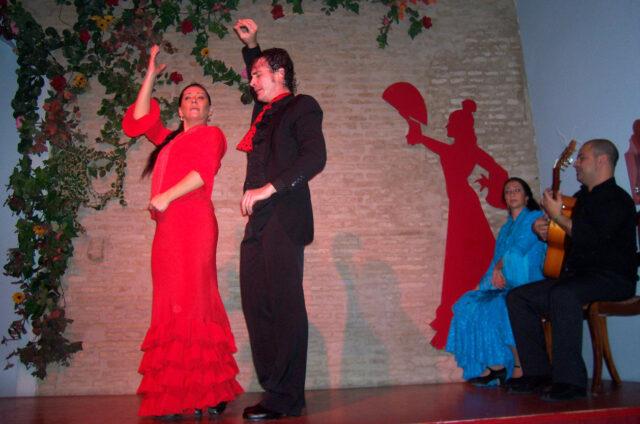 Španělské flamenco, Andalusie, Španělsko