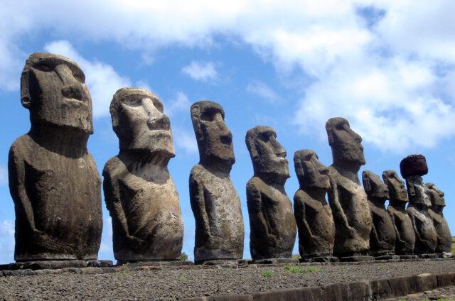 Ahu Tongariki, N.P. Rapa Nui, Velikonoční ostrov