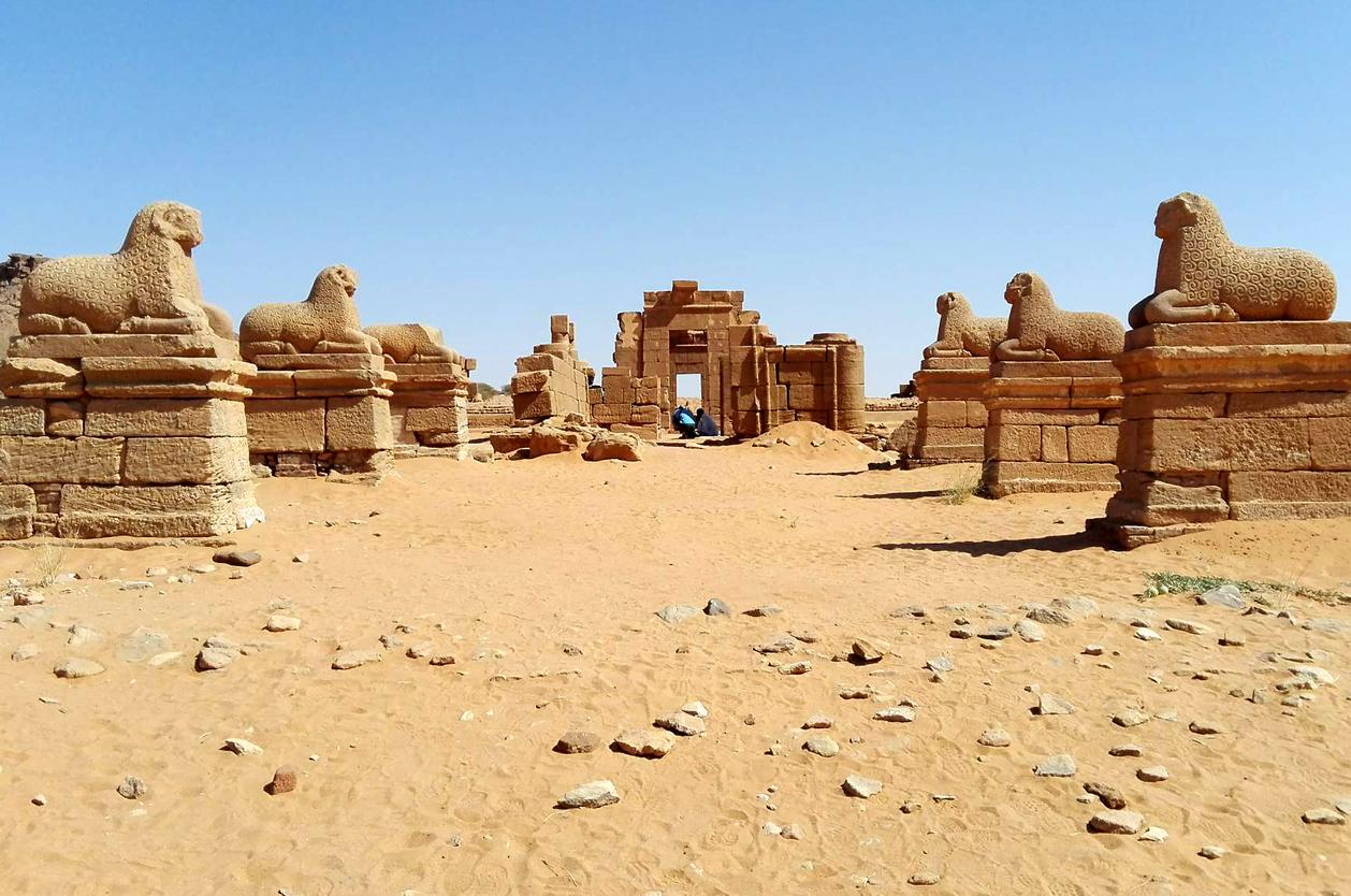 Amonův chrám, Meroe, Súdán