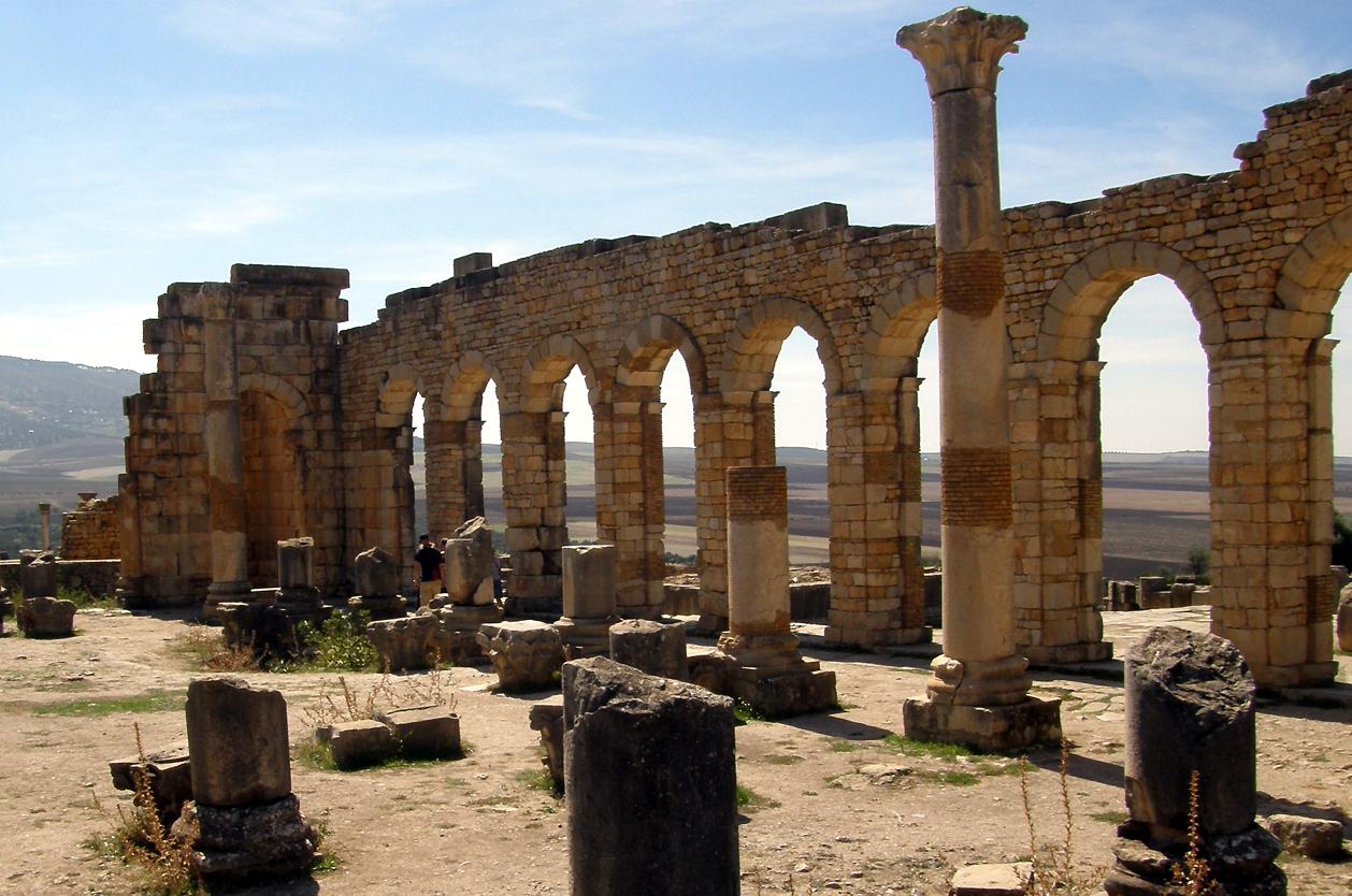 Antické Volubilis, Maroko
