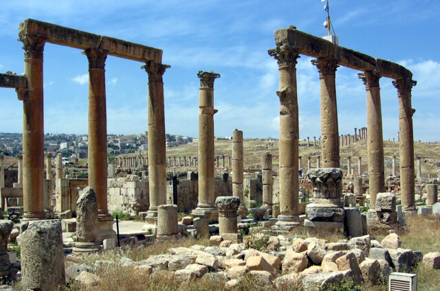 Antický Džeraš, Jordánsko