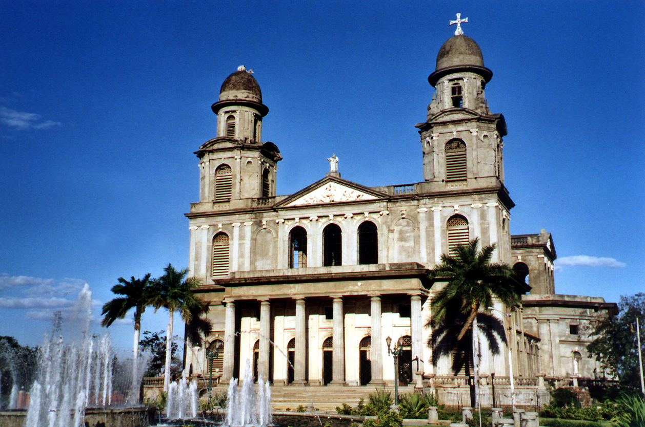 Antigua Catedral de Managua, Nikaragua