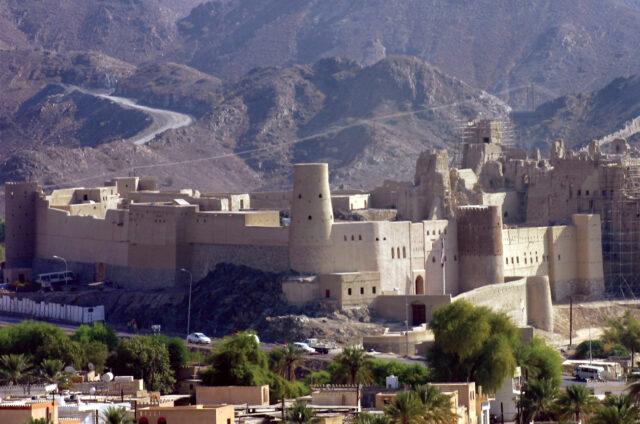 Bahla, největší pevnost země, Omán