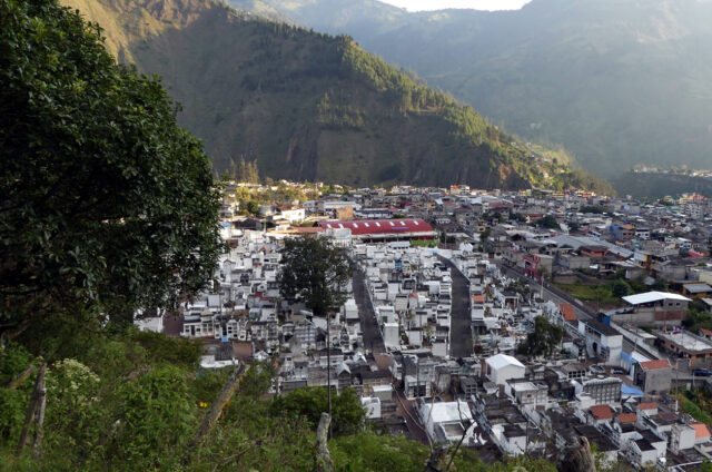 Banos de Agua Santa, Ekvádor